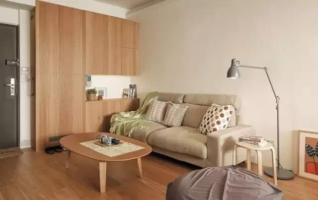 30㎡MUJI风公寓,在上海用5万元就能装修得这么高级?