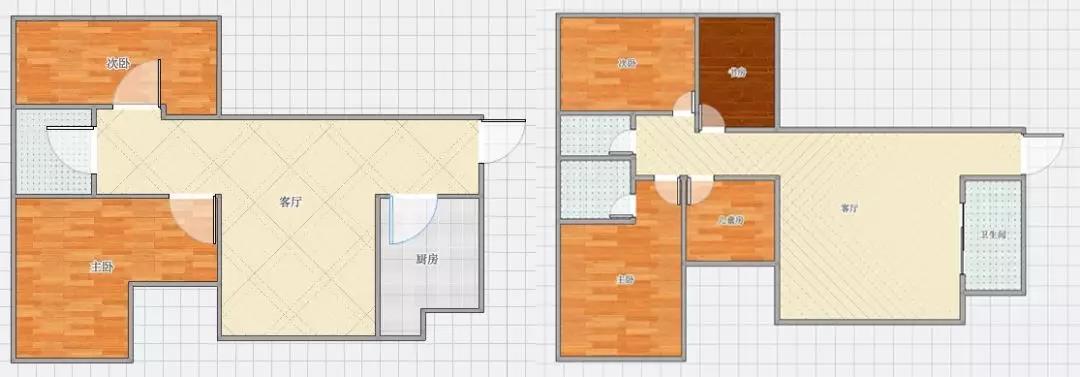 90㎡住了6口之家,不挤反而有空间剩余